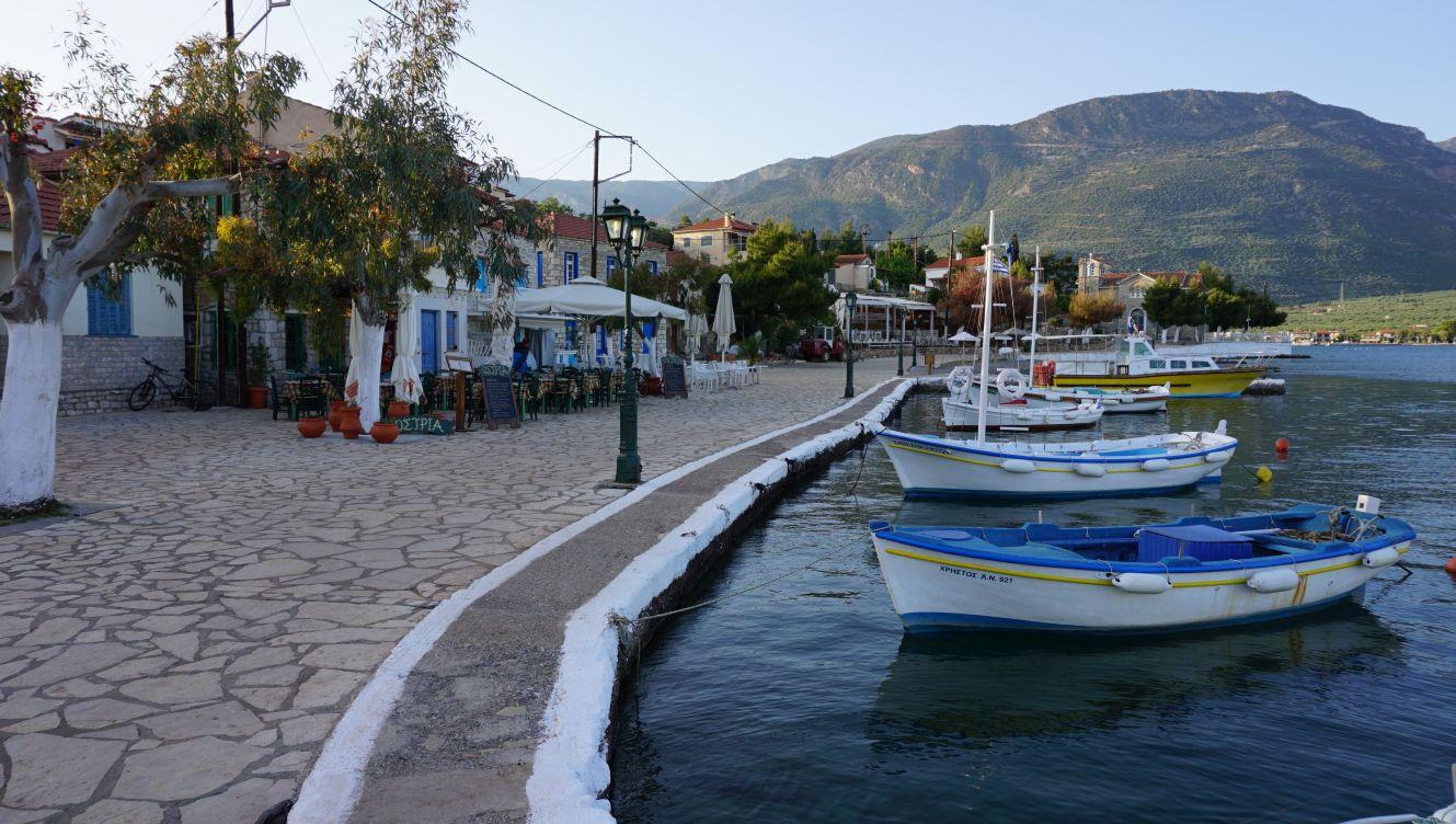 Von Galaxidi bis zur Insel Paxos   Nis Puck