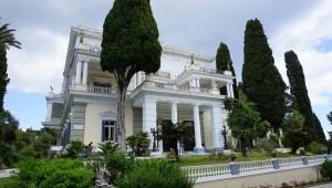 Das Achillion auf Korfu